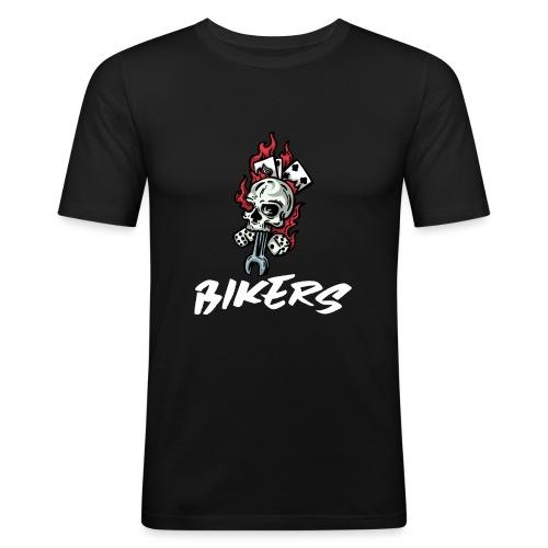 biker 666 - T-shirt près du corps Homme