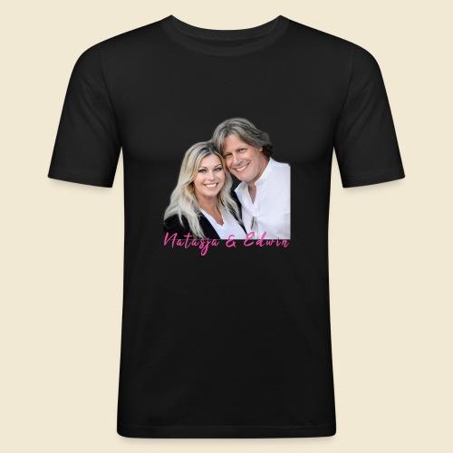 Natasja & Edwin - Mannen slim fit T-shirt