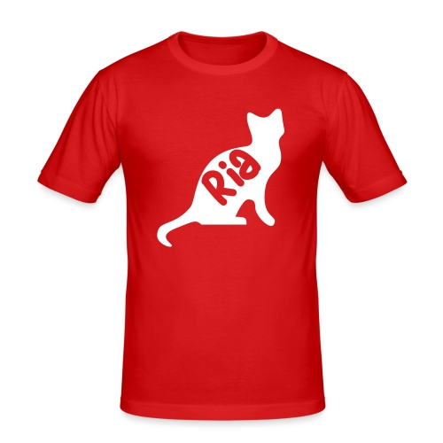 Team Ria Cat - Men's Slim Fit T-Shirt