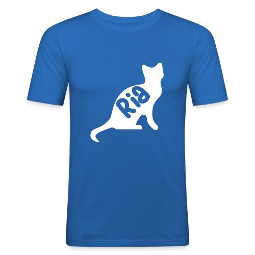 Team Ria Cat - Men's Slim Fit T-Shirt