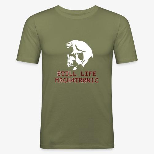 Still Life - Slim Fit T-shirt herr