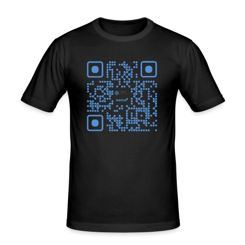 QR Maidsafe.net - Men's Slim Fit T-Shirt