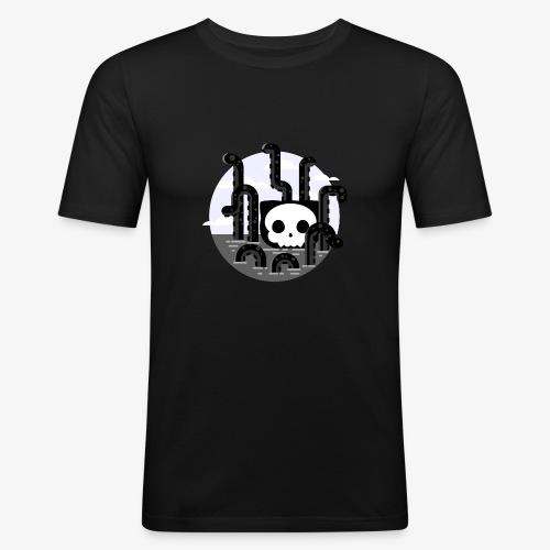 Cat octopus | Monster cat Github | Css | Web - Men's Slim Fit T-Shirt