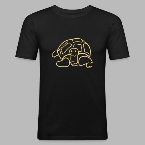 schildkröte landschildkroete aus den seychellen - Männer Slim Fit T-Shirt