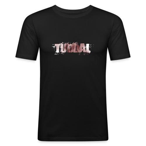 tuddal jobber 4 merged kun logo copy v2 - Slim Fit T-skjorte for menn