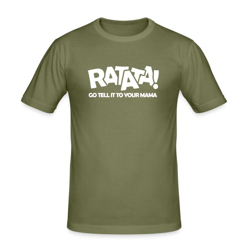 RATATA full - Männer Slim Fit T-Shirt