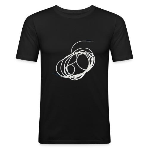 Kabel - Männer Slim Fit T-Shirt