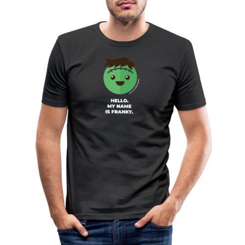 Frankenstein - Halloween Flirt Monster - Männer Slim Fit T-Shirt