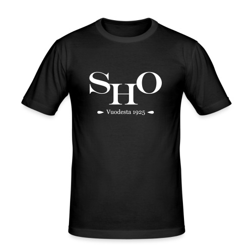 SHO - Miesten tyköistuva t-paita