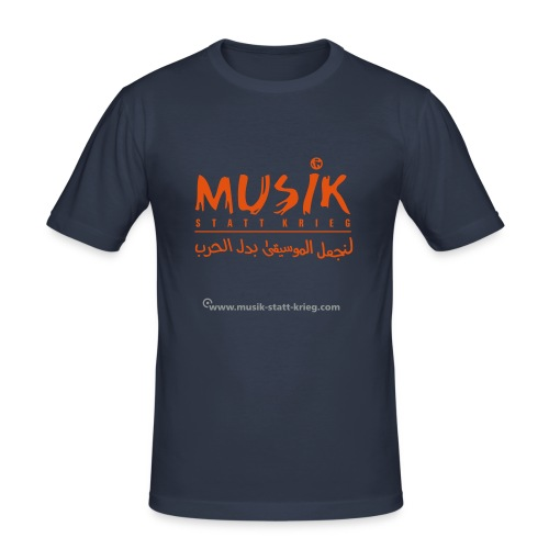 msk tshirt frontDesign - Männer Slim Fit T-Shirt
