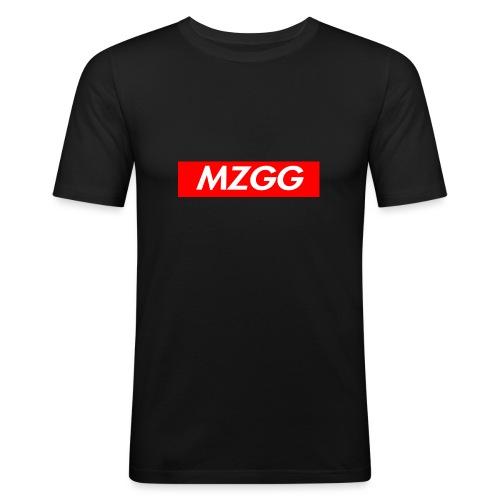 MZGG FIRST - Slim Fit T-shirt herr