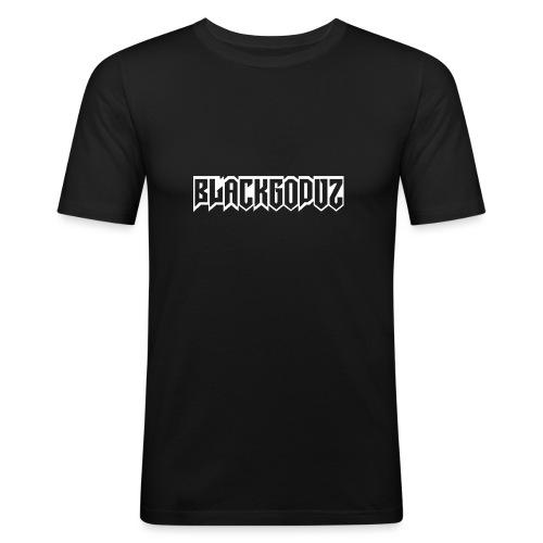 blackgodvz - Maglietta aderente da uomo