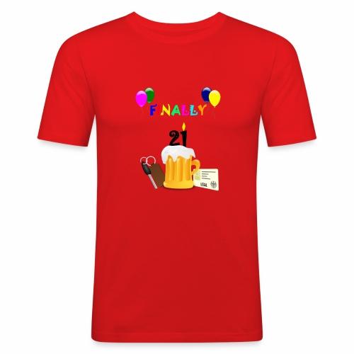 Finally 21 (2) - Men's Slim Fit T-Shirt