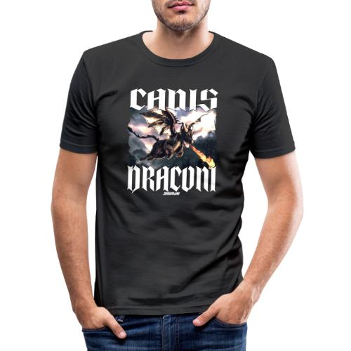 Canis Draconi - Mannen slim fit T-shirt