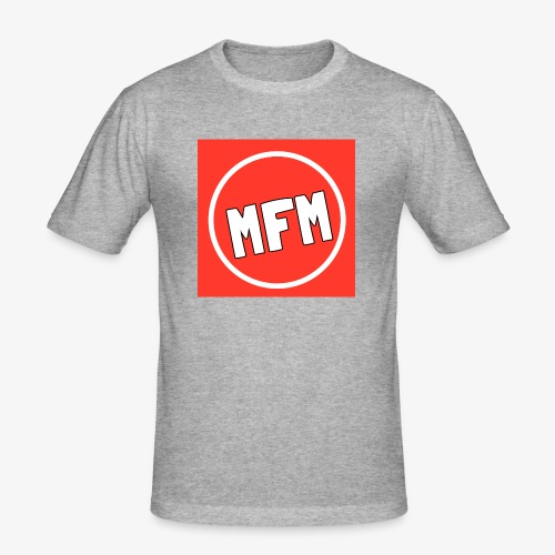 MrFootballManager Clothing - Men's Slim Fit T-Shirt