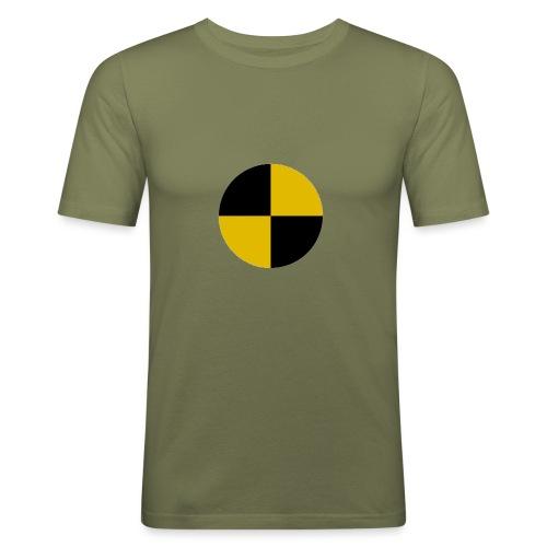 crash test - Men's Slim Fit T-Shirt