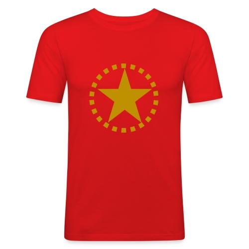 pixknapp png - Slim Fit T-shirt herr