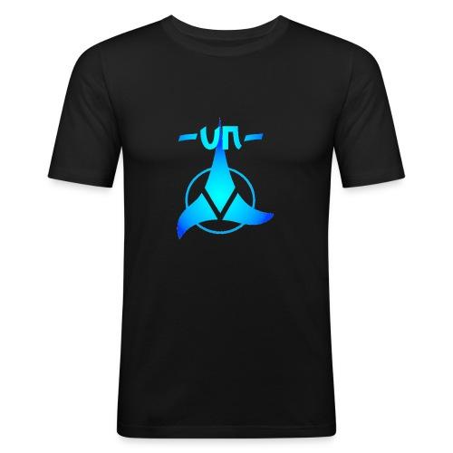 UNNICK Logo - Männer Slim Fit T-Shirt
