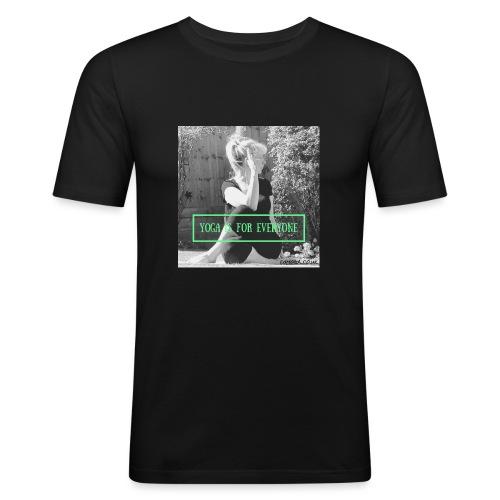 YOGA IS FOR EVERYONE - Men's Slim Fit T-Shirt