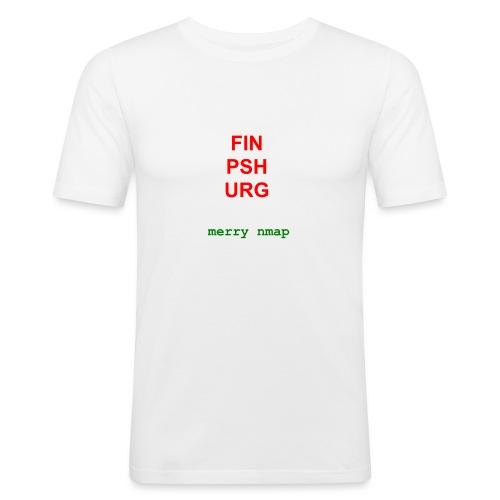 Merry nmap - Men's Slim Fit T-Shirt