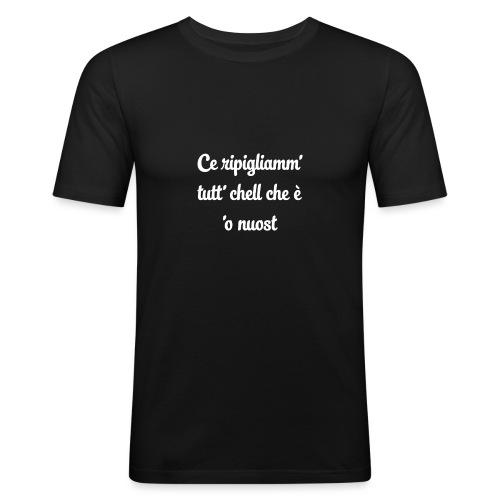 Maglietta Don Pietro - Maglietta aderente da uomo