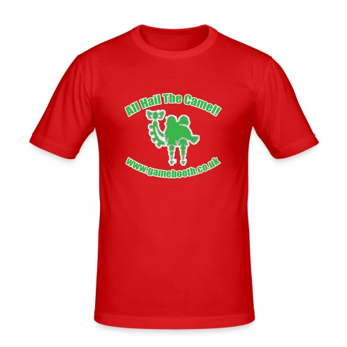 All Hail The Camel! - Men's Slim Fit T-Shirt