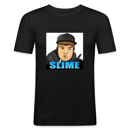 Egen SlimePlays Klær - Slim Fit T-skjorte for menn