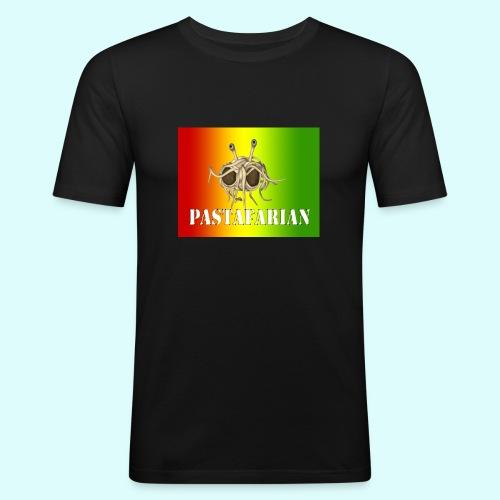 Reggae pastafarian - Mannen slim fit T-shirt
