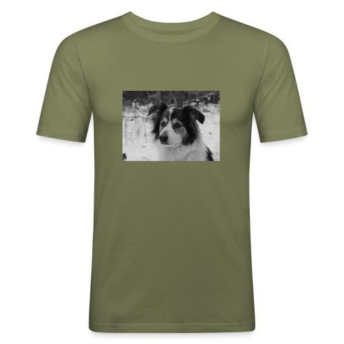 Skippy Winter - Männer Slim Fit T-Shirt