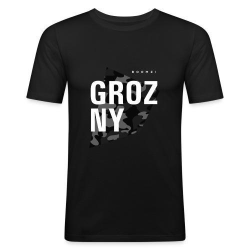 GROZ NY png - Men's Slim Fit T-Shirt
