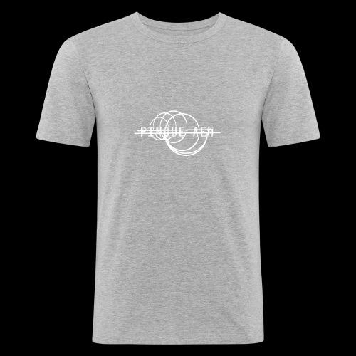 Pinque AEM Bianco - Maglietta aderente da uomo