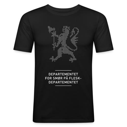 Departementsdepartementet (fra Det norske plagg) - Slim Fit T-skjorte for menn