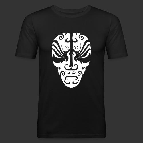 Maoriskull - Männer Slim Fit T-Shirt
