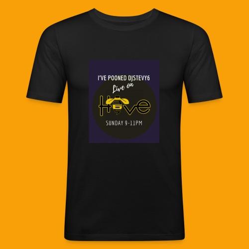 djstevy6 pooned - Men's Slim Fit T-Shirt