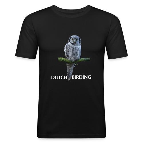 sperweruil db - Mannen slim fit T-shirt