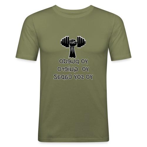 Para el Espejo: GYM - YO PUEDO - Camiseta ajustada hombre