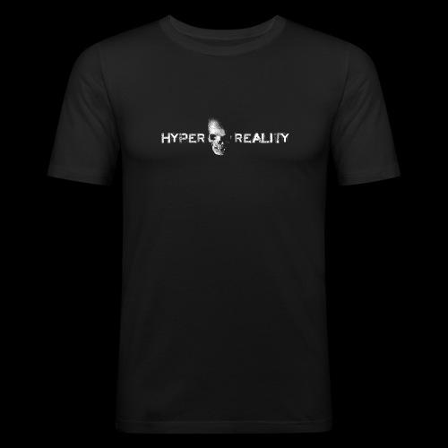 HRR LOGO FRONT & BACK - Men's Slim Fit T-Shirt
