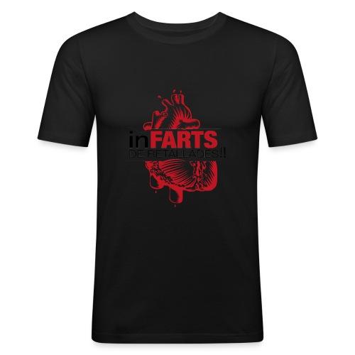 logo infarts png - Camiseta ajustada hombre