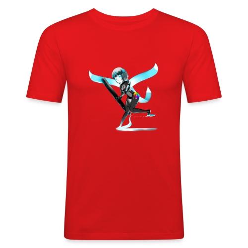Huion Character O.C. - Maglietta aderente da uomo
