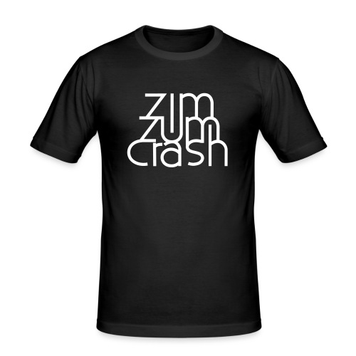 Zim Zum Crash Band Shirt - Männer Slim Fit T-Shirt