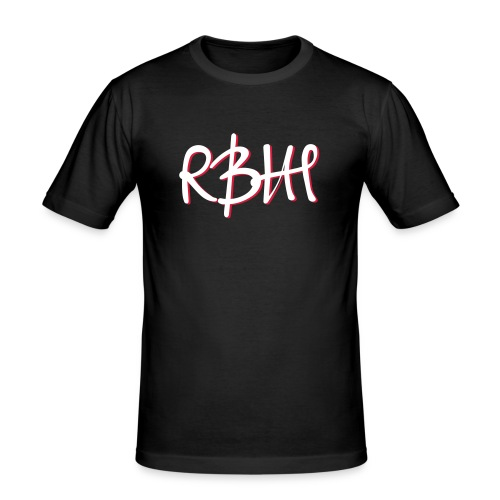 RBHH Graffiti breiter - Männer Slim Fit T-Shirt