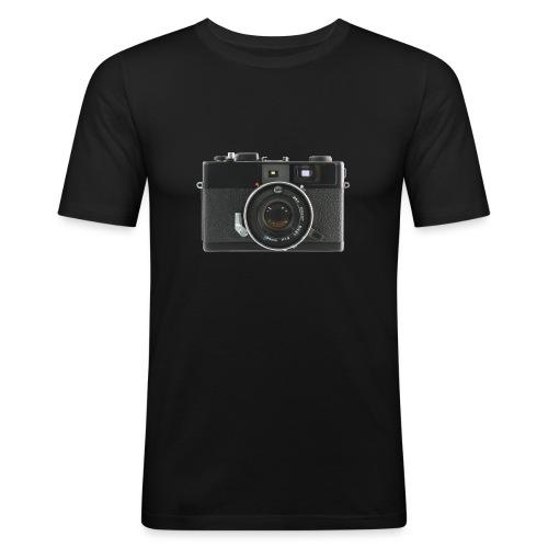 Vintage Camera Auto S3 - Maglietta aderente da uomo