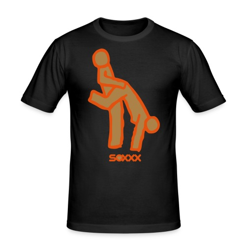 new hand stand - Men's Slim Fit T-Shirt