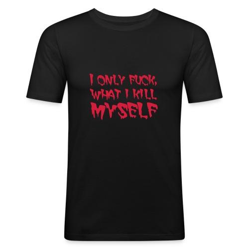 fuckill - Men's Slim Fit T-Shirt