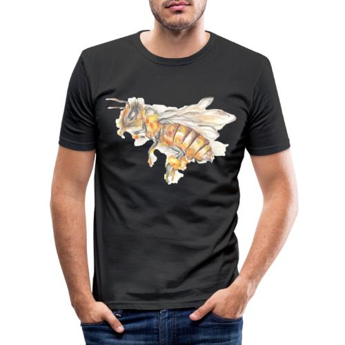 MG002 Bee | Honey | Save the Bees | Books bee - Men's Slim Fit T-Shirt