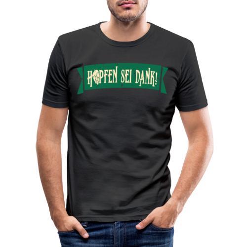 Hobbybrauer Bier brauen Braumeister - Männer Slim Fit T-Shirt