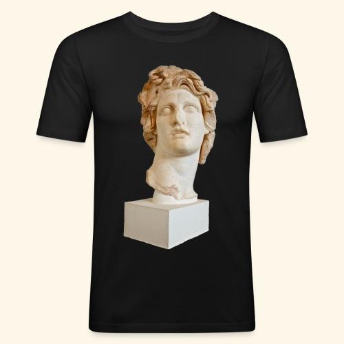 Roman Statue MACINTOSH PLUS - リサフランク420 / 現代のコンピュー - T-shirt près du corps Homme