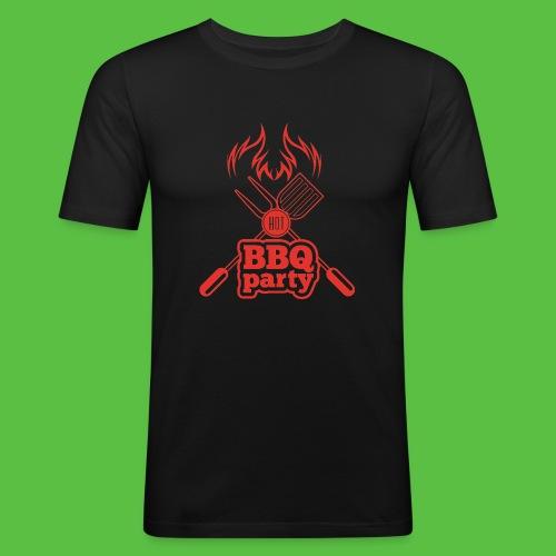 BBQ Party - Männer Slim Fit T-Shirt