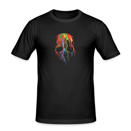 Skull and Colours - Camiseta ajustada hombre