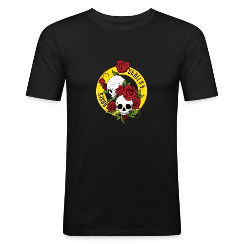 SKULL'S N ROSES - Camiseta ajustada hombre